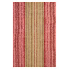 Woven Framboise Red Area Rug