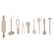 9-Piece Kids Kitchen Utensil Set