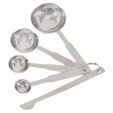 4-Piece Deluxe Measuring Spoon Set