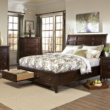 Justine Storage Sleigh Bed