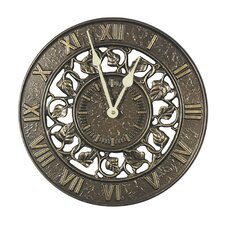 "Ivy Silhouette 12"" Clock"