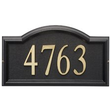 Design-it Arch Address Plaque