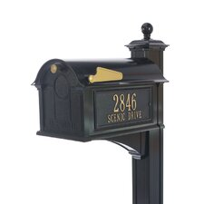 Balmoral Streetside Mailbox-Post Package