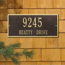 Hartford Address Plaque