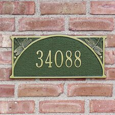 Dragonfly Standard Address Plaque