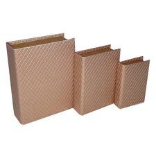 3 Piece Stitchwork Vinyl Book Box Set