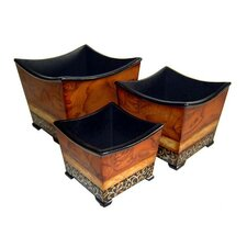 Square Planter Box (Set of 3)