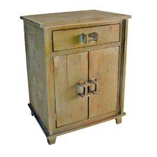 Shabby Elegance 1 Drawer 2 Door Cabinet
