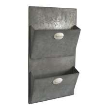 Metal Wall Mail Holder