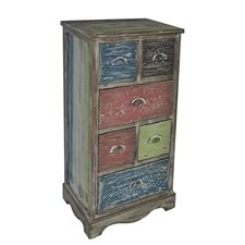 Soules 6 Drawer Cabinet