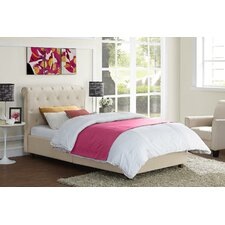 Carmela Upholstered Panel Bed