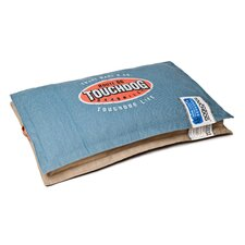 Sporty Shock-Stitched Reversible Rectangular Thick Dog Mat