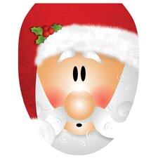 Santa Claus Toilet Seat Decal