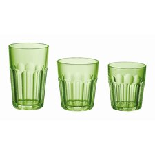 "Happy Hour 5"" Tumbler in Green (Set of 12)"
