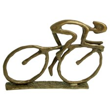 Cyclist Figurine