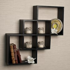 Intersecting Wall Shelf