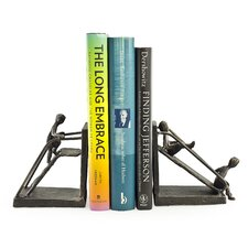 Children on a Slide Bookend (Set of 2)