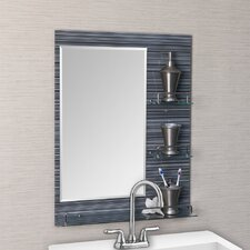 Milan Vanity Bathroom Mirror with Shelves