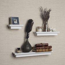 Cornice 3 Piece Ledge Floating Shelf Set