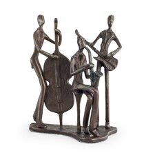 Jazz Trio Bronze Sculpture