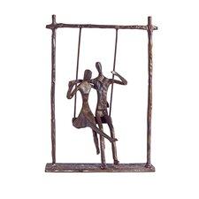 Couple on a Swing Figurine