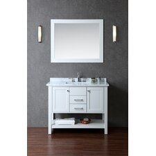"Bayhill 42"" Single Bathroom Vanity Set with Mirror"