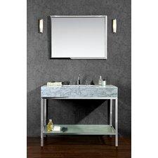 "Brightwater 48"" Single Bathroom Vanity Set with Mirror"