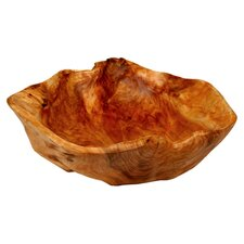 Rootworks Extra Large Flat Cut Serving Bowl