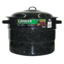21.5-Quart Graniteware Canner