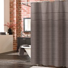 York Linen Shower Curtain