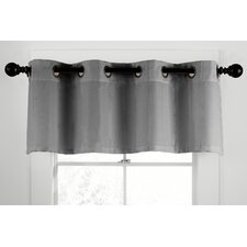 "Gotham Ramie Grommet Tailored 50"" Curtain Valance"