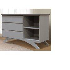 Madison 3 Drawer Combo Dresser