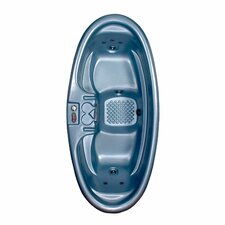 2-Person 8-Jet Plug-N-Play Duet Oval Spa
