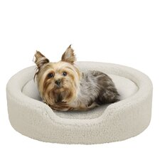 Reversible Cuddler Bolster Dog Bed