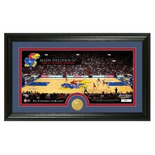 NCAA Court Bronze Coin Panoramic Photo Mint Framed Memorabilia