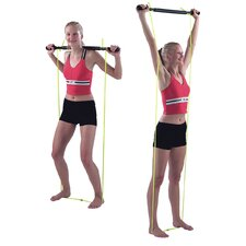 Padded Exercise Bar with Tubing