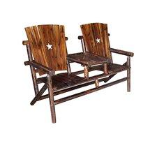 Char-Log Cut Out Star Double Arm Chair II