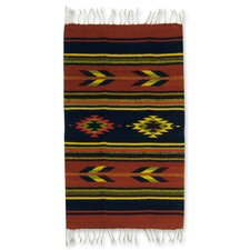 Swift Arrows Zapotec Rug