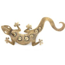'Golden Gecko' Wall Décor