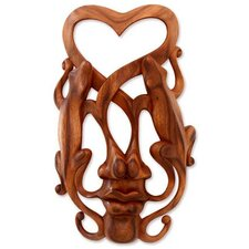'Song of Love' Mask Wall Décor