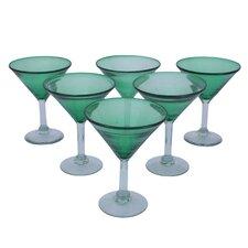 Javier and Efren Vegetation Martini Glass (Set of 6)