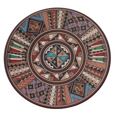 Huaman Paucar Family Inca Star Cuzco Plate