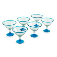 The Javier and Efren Martini Glass (Set of 6)
