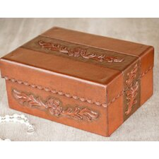 The Abel Rios Leather and Mohena Wood Box