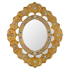 Asunta Pelaez Sweet Flower Majesty Mirror