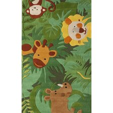 Kinder Green King of The Jungle Rug