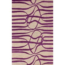 Bella Elite Purple Area Rug