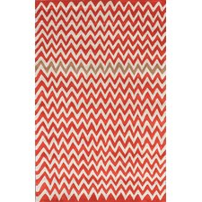 Bella Chevron Daredevil Area Rug