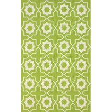 Serendipity Green Super Bold Area Rug