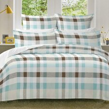 Monet Flannel Duvet Set